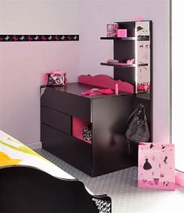 Commode Chambre Fille : chambre rock pour fille adolescente galerie photos d 39 article 3 4 ~ Teatrodelosmanantiales.com Idées de Décoration
