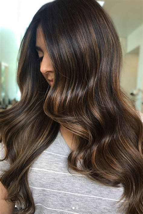 cold brew hair  trending  falland brunettes
