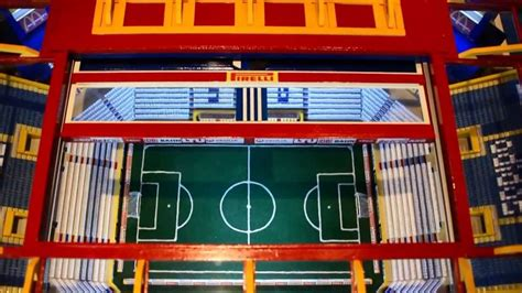 sg  fussball stadion aus holz youtube