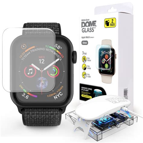 Apple Watch Tempered Glass Screen Protector (series 4 - 40