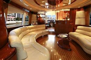 traditional teak and holly deck limited space yet With yacht interior design decoration