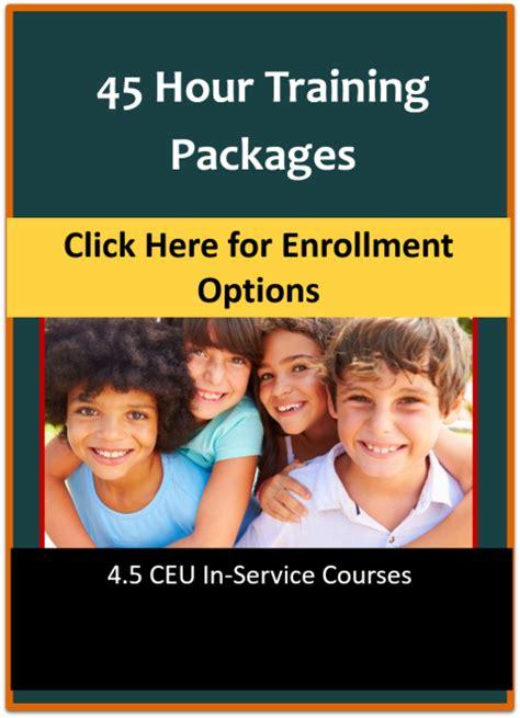 child care certificate cda training