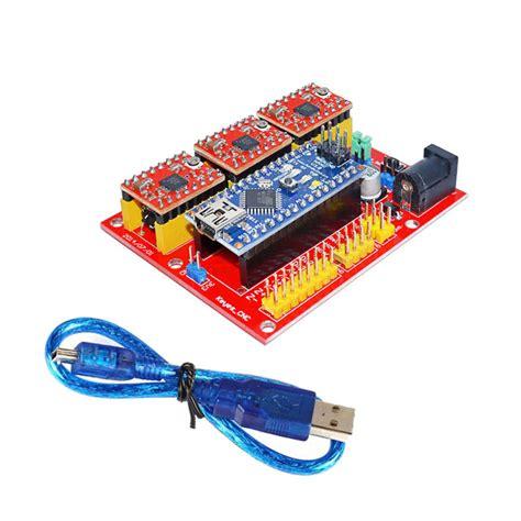 3dv4 cnc shield v4 nano 3 0 reprap stepper drivers set