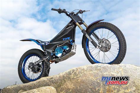 yamaha ty e trial bike enters 2018 fim trial e cup
