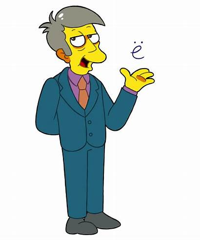 Skinner Principal Seymour Simpsons Fan Simpson Lisa