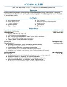 free resume objective sles for administrative assistant free resume templates education administration