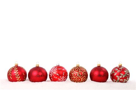 red christmas baubles free stock photo public domain