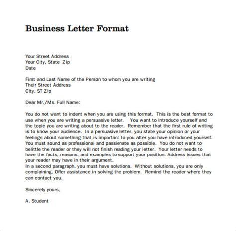 20206 business letter format business letter format sle template