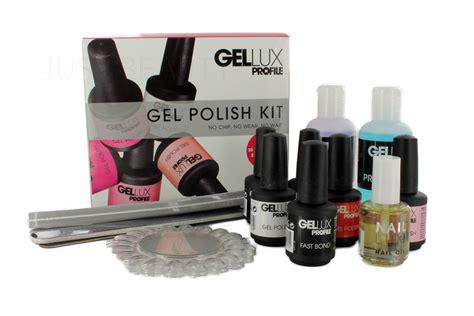 Salon System Profile Gellux Uv Led Gel Nail Polish Varnish
