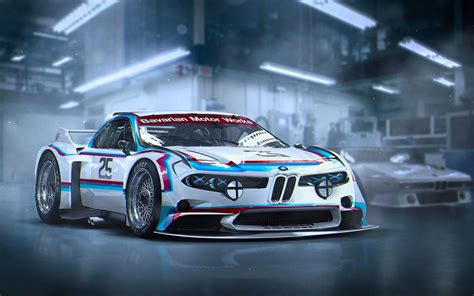 Bmw 3.0 Csl Concept Future Car 4k Iphone Wallpaper