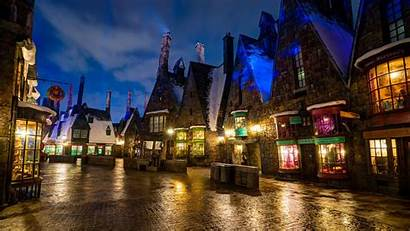 Town Background Wallpapers Potter Harry Orlando Wall
