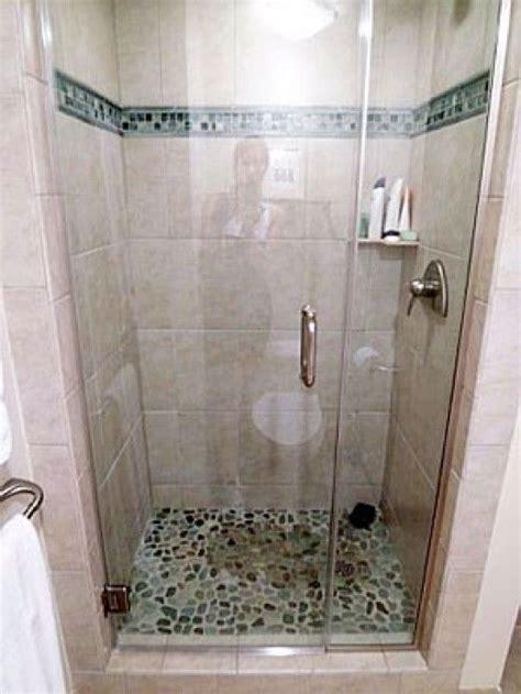 choose  standup shower lake house bathroom