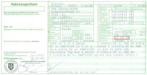 So Finden Sie Ihr Fahrzeugbaujahr Im Fahrzeugschein