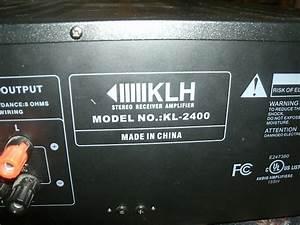Klh Kl 2400 Manual Pdf