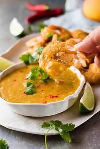 Coconut Shrimp / Prawns with Spicy Thai Mango Sauce ...