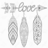 Arrow Drawing Feather Feathers Pages Words Word Hobby Lobby Coloring Books Rbg Adult Draw Getdrawings sketch template