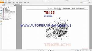 Takeuchi Tb135 Parts Manual Bg4z008