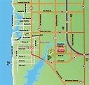 Map to Michelbob's Restaurant - Naples, Florida