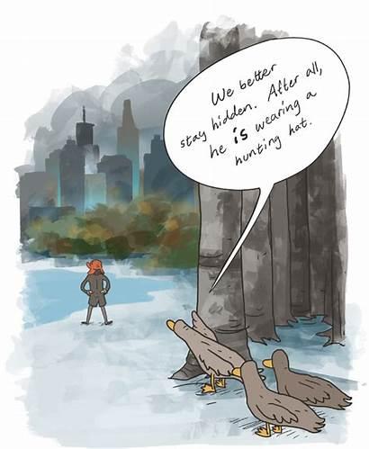 Rye Catcher Ducks Park Central Quotes Symbolism