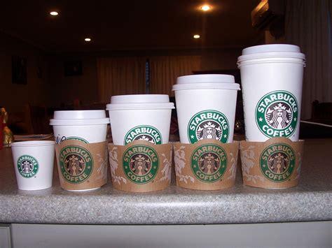 Starbucks Coffee Sizes. by Cutie Kitty Pie on DeviantArt