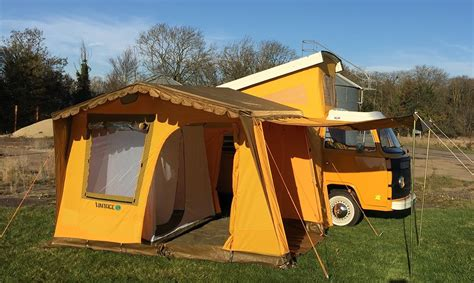 Nla Vintage Yellow Driveaway Awning