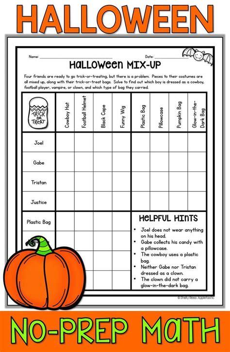 halloween math worksheets  images halloween math