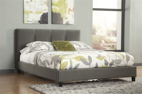 masterton espresso upholstered bed bernie phyls