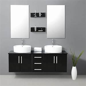 meuble salle de bain noir With meuble sdb noir