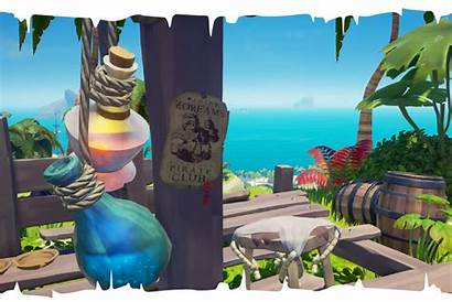 Thieves Sea Rock Rare Players Studios Easter