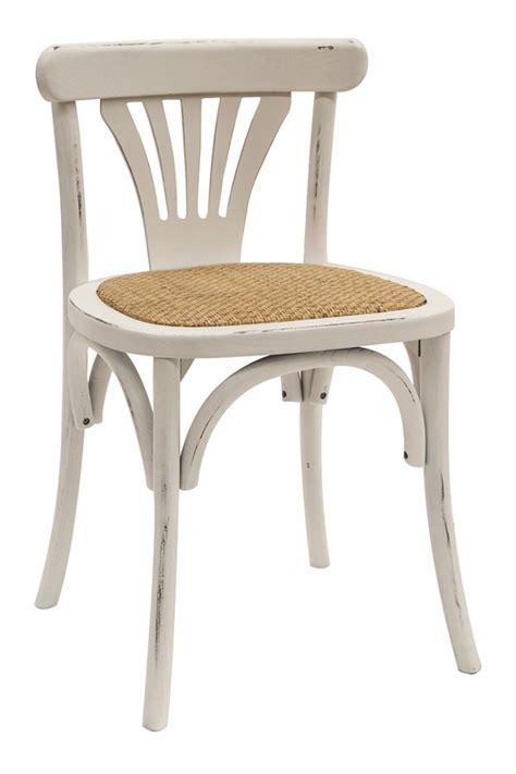 chaises de bistrot chaises bistro vintage fabriquées en bois modèle jade
