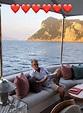 Katharine McPhee shares snap of fiance lounging on yacht ...