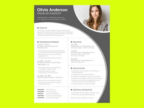 Free Resume Templates For Microsoft Word by Resume Templates Microsoft Word Free