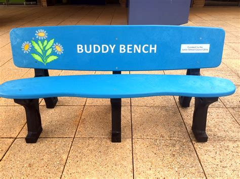Buddy Bench by Buddy Bench Grab A Buddy With This Replas Bench