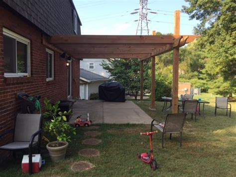 pergola with slope doityourself community forums