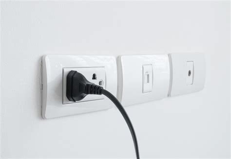 Appliance Plugged Into The Wall But Turned Off