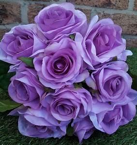 Artificial rose bouquets pink,black,purple,orange,red ...