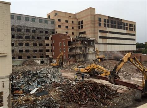 demolition   princeton hospital site  months