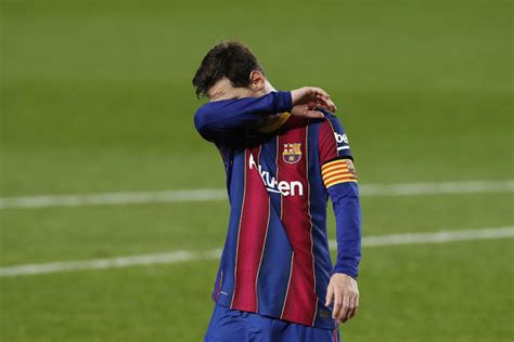 I'm tired of being blamed for everything at Barcelona ...