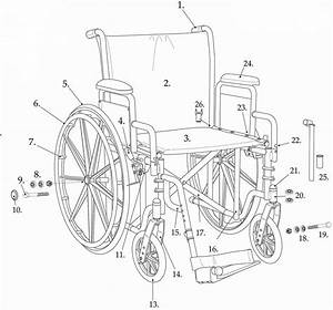 Standard Wheelchair Parts Finder