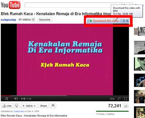 mendownload video  youtube menggunakan idm zky blog