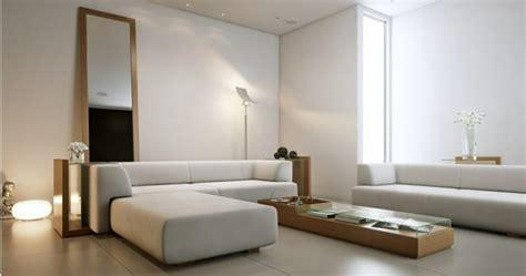 einrichtungsideen fuers wohnzimmer schlichte und elegante