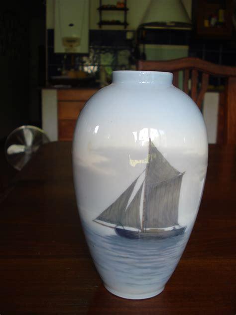 royal copenhagen vases a royal copenhagen sailboat vase collectors weekly