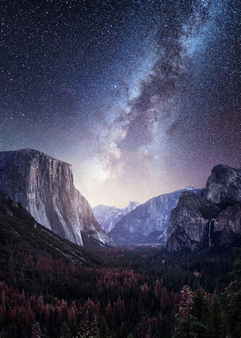 Yosemite Valley Milky Way Mads Peter Iversen Fstoppers