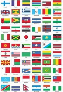Todas las banderas de todos los países con sus nombres Imágenes Taringa!