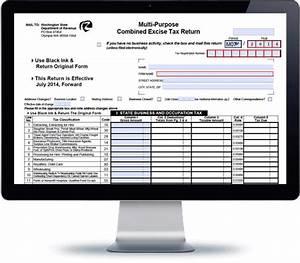 Washington multipurpose sales tax form avalara trustfile for Tax document automation software