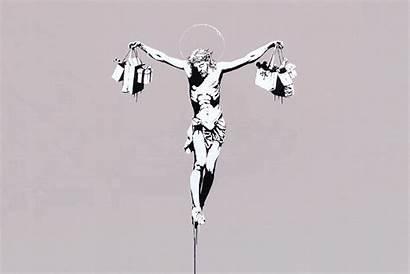 Culture Consumer Consumerism Jesus Contemporary Christ Banksy