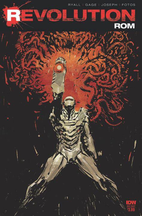 Rom Revolution 1 Transformers Comics Tfw2005