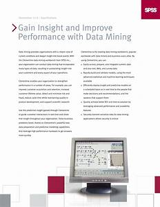 Gain Insight and Improve Performance with Data Mining