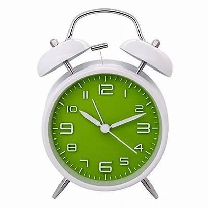 Alarm Clock Quartz Retro Twin Bedside Ticking