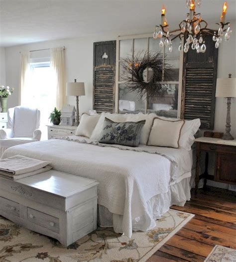 Rustic farmhouse style master bedroom ideas (15) | Master ...
